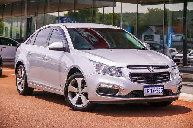 Used Holden Cruze JH Series II MY16 Z-Series Gosnells, 2016 Holden Cruze JH Series II MY16 Z-Series Silver 6 Speed Sports Automatic Sedan