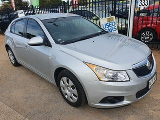 2012 Holden Cruze JH Series II MY12 CD Silver 5 Speed Manual Hatchback.