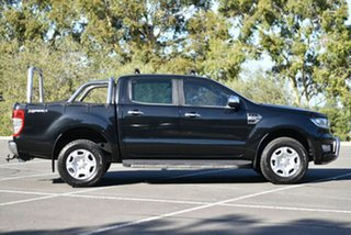 2016 Ford Ranger PX MkII XLT Double Cab 4x2 Hi-Rider Black 6 Speed Sports Automatic Utility
