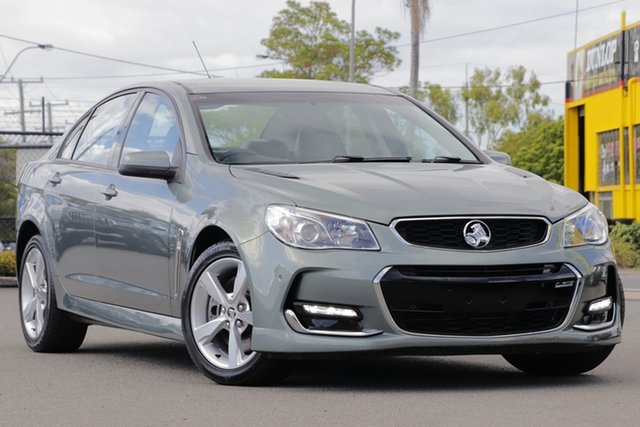 Used Holden Commodore VF II MY16 SS Rocklea, 2016 Holden Commodore VF II MY16 SS Prussian Steel 6 Speed Sports Automatic Sedan