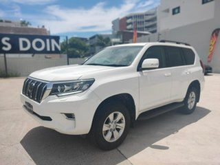 Toyota Landcruiser Prado GXL White Sports Automatic Wagon.