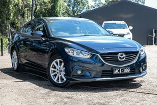 2014 Mazda 6 GJ1031 MY14 Touring SKYACTIV-Drive Blue 6 Speed Sports Automatic Sedan