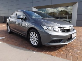 2012 Honda Civic 9th Gen VTi-L Grey 5 Speed Sports Automatic Sedan