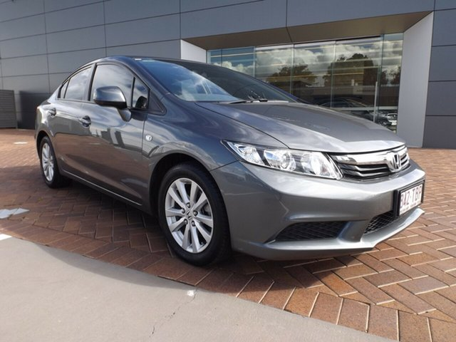 Used Honda Civic 9th Gen VTi-L Toowoomba, 2012 Honda Civic 9th Gen VTi-L Grey 5 Speed Sports Automatic Sedan