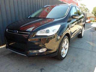 2013 Ford Kuga TF Titanium PwrShift AWD Black 6 Speed Sports Automatic Dual Clutch Wagon.