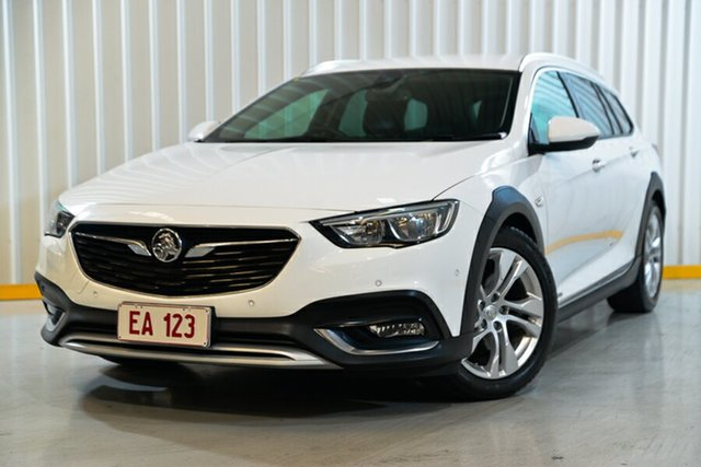 Used Holden Calais ZB MY18 Tourer AWD Hendra, 2018 Holden Calais ZB MY18 Tourer AWD White 9 Speed Sports Automatic Wagon