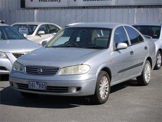 2003 Nissan Pulsar N16 ST-L Silver 4 Speed Automatic Sedan