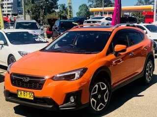 2018 Subaru XV G5X MY18 2.0i-S Lineartronic AWD Orange 7 Speed Constant Variable Wagon.