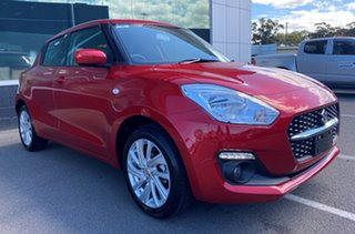 2020 Suzuki Swift AZ Series II GL Navigator Burning Red 1 Speed Constant Variable Hatchback.