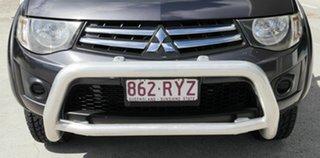 2011 Mitsubishi Triton MN MY11 GL-R Double Cab Grey 4 Speed Automatic Utility