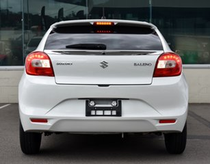 2020 Suzuki Baleno EW Series II GL White 4 Speed Automatic Hatchback.