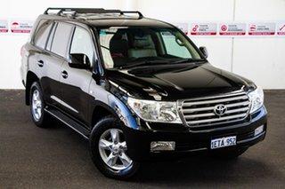 2010 Toyota Landcruiser UZJ200R 09 Upgrade VX (4x4) Ebony 5 Speed Automatic Wagon.