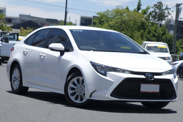 Pre-Owned Toyota Corolla Mzea12R Ascent Sport Upper Mount Gravatt, 2019 Toyota Corolla Mzea12R Ascent Sport White 10 Speed Constant Variable Sedan