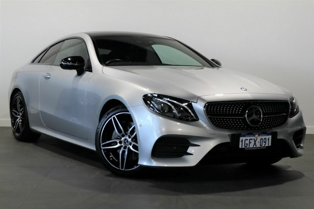 Used Mercedes-Benz E-Class C238 808+058MY E220 d 9G-Tronic PLUS Bayswater, 2017 Mercedes-Benz E-Class C238 808+058MY E220 d 9G-Tronic PLUS Silver 9 Speed Sports Automatic