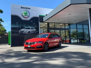 2020 Skoda Octavia NE MY20.5 RS DSG 245 Red 7 Speed Sports Automatic Dual Clutch Wagon