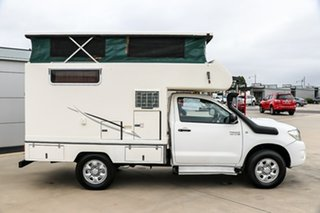 2010 Toyota Hilux 4x4 White 5 Speed Manual Motor Home