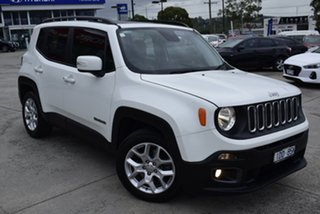 2016 Jeep Renegade BU MY16 Longitude DDCT White 6 Speed Sports Automatic Dual Clutch Hatchback.
