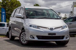 2015 Toyota Tarago ACR50R MY13 GLi Silver Pearl 7 Speed Constant Variable Wagon.