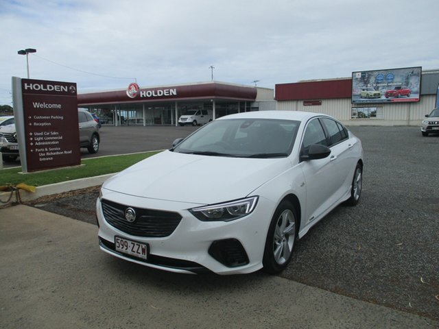 Used Holden Commodore ZB MY18 RS-V Liftback AWD North Rockhampton, 2018 Holden Commodore ZB MY18 RS-V Liftback AWD White 9 Speed Sports Automatic Liftback