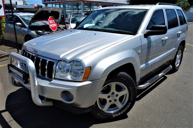 Used Jeep Grand Cherokee WH MY2006 Limited Seaford, 2005 Jeep Grand Cherokee WH MY2006 Limited Silver 5 Speed Automatic Wagon