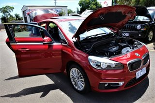 2014 BMW 2 Series F45 218i Active Tourer Steptronic Sport Line Red 6 Speed Automatic Hatchback