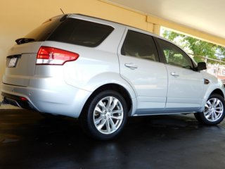 2013 Ford Territory SZ TS (RWD) Silver 6 Speed Automatic Wagon.