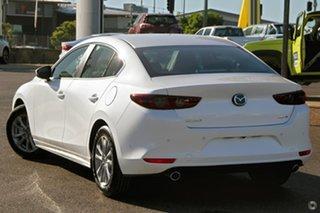 2020 Mazda 3 BP2S7A G20 SKYACTIV-Drive Pure White 6 Speed Sports Automatic Sedan