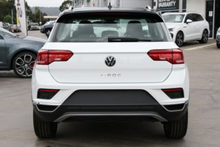 2021 Volkswagen T-ROC A1 MY21 110TSI Style White Silver 8 Speed Sports Automatic Wagon