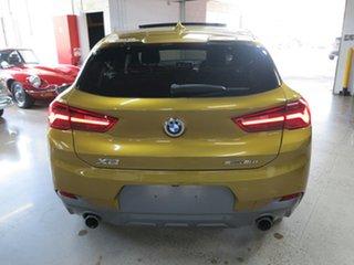 2018 BMW X2 F39 sDrive20i Coupe DCT Steptronic M Sport X Galvanic Gold 7 Speed