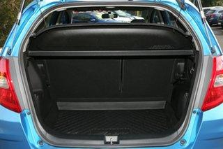 2012 Honda Jazz GE MY12 VTi Cerulean Blue 5 Speed Manual Hatchback