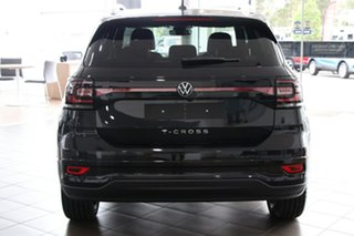 2020 Volkswagen T-Cross C1 MY21 85TSI DSG FWD Style Deep Black Pearl Effect 7 Speed