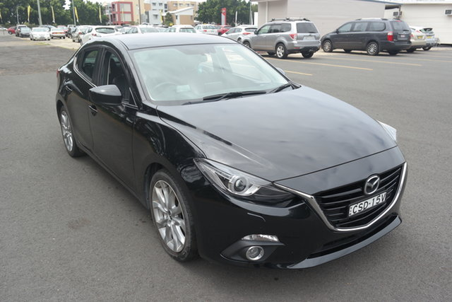 Used Mazda 3 BM5236 SP25 SKYACTIV-MT GT Maryville, 2014 Mazda 3 BM5236 SP25 SKYACTIV-MT GT Black 6 Speed Manual Sedan