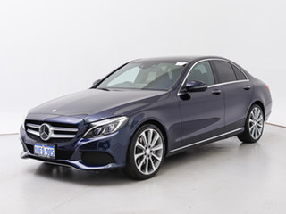 2015 Mercedes-Benz C250 205 BlueTEC Blue 7 Speed Automatic Sedan.
