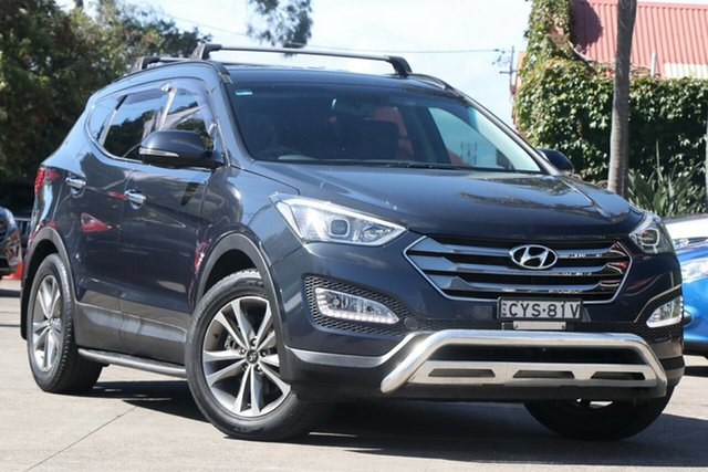 Pre-Owned Hyundai Santa Fe DM MY15 Elite CRDi (4x4) Mosman, 2015 Hyundai Santa Fe DM MY15 Elite CRDi (4x4) 6 Speed Automatic Wagon