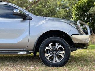2016 Mazda BT-50 UR0YF1 GT Silver 6 Speed Sports Automatic Utility