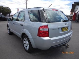 2005 Ford Territory SY TX (RWD) Silver Metallic 4 Speed Auto Seq Sportshift Wagon