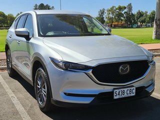 2019 Mazda CX-5 KF4WLA Touring SKYACTIV-Drive i-ACTIV AWD Silver 6 Speed Sports Automatic Wagon.
