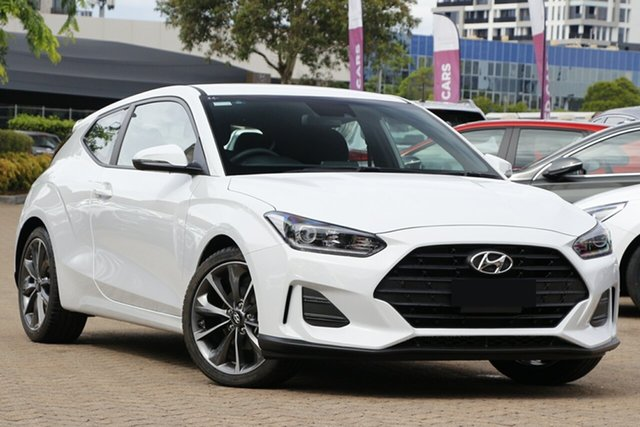 New Hyundai Veloster JS MY20 Reynella, 2019 Hyundai Veloster JS MY20 Ignite Flame 6 Speed Automatic Coupe