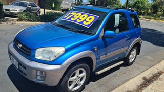 2002 Toyota RAV4 ACA20R Cruiser (4x4) Blue 4 Speed Automatic 4x4 Wagon