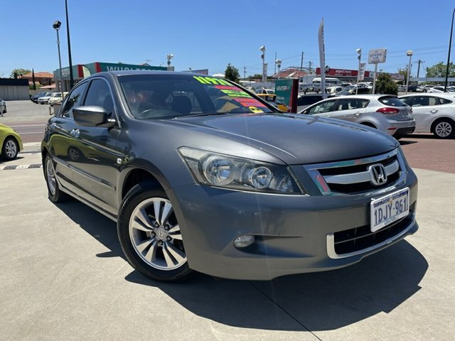 Used Honda Accord 50 MY10 VTi Victoria Park, 2010 Honda Accord 50 MY10 VTi Grey 5 Speed Automatic Sedan