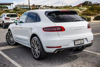 2014 Porsche Macan 95B MY15 Turbo PDK AWD White 7 Speed Sports Automatic Dual Clutch Wagon.