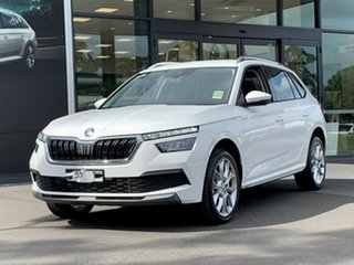 2020 Skoda Kamiq NW MY21 85TSI FWD White 6 Speed Manual Wagon.