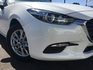 2017 Mazda 3 BN5278 Neo SKYACTIV-Drive White 6 Speed Sports Automatic Sedan.