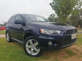 2010 Mitsubishi Outlander ZH MY10 VR Blue 6 Speed Sports Automatic Wagon.