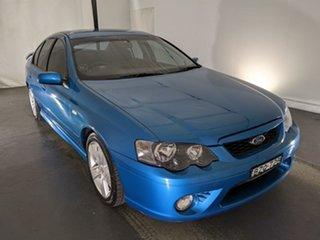 2007 Ford Falcon BF Mk II XR6 Blue 6 Speed Sports Automatic Sedan.