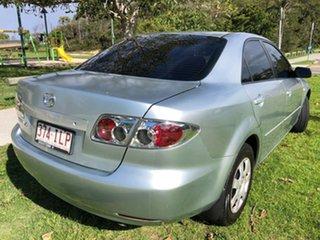 2005 Mazda 6 GG1031 MY04 Classic Silver 4 Speed Sports Automatic Sedan