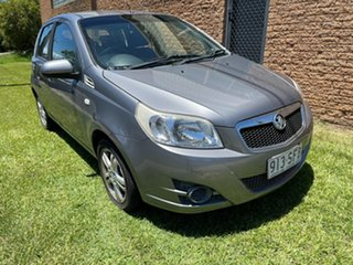2012 Holden Barina TK MY11 Silver 4 Speed Automatic Hatchback.
