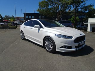 2015 Ford Mondeo MD Titanium White 6 Speed Sports Automatic Hatchback.