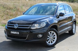2015 Volkswagen Tiguan 5NC MY15 132 TSI (4x4) Deep Black 7 Speed Auto Direct Shift Wagon.