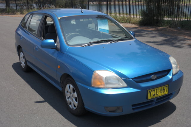 Used Kia Rio MY03 LS Maryville, 2003 Kia Rio MY03 LS Blue 4 Speed Automatic Hatchback
